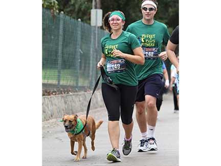 Having Fun Staying Fit — Tracy Berlin and Matt 80s Fun Run