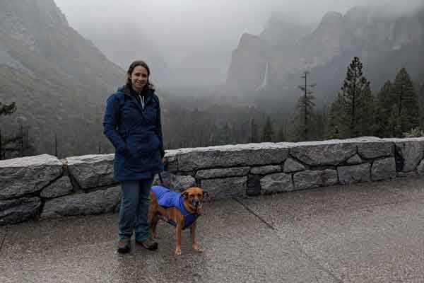 Tunnel View at Yosemite on Dog Friendly Road Trip to Vancouver