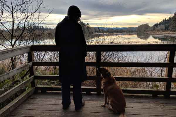 Visiting Fort Clatsop on Dog Friendly Road Trip